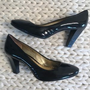 Coach Patent Leather Sheri Heels